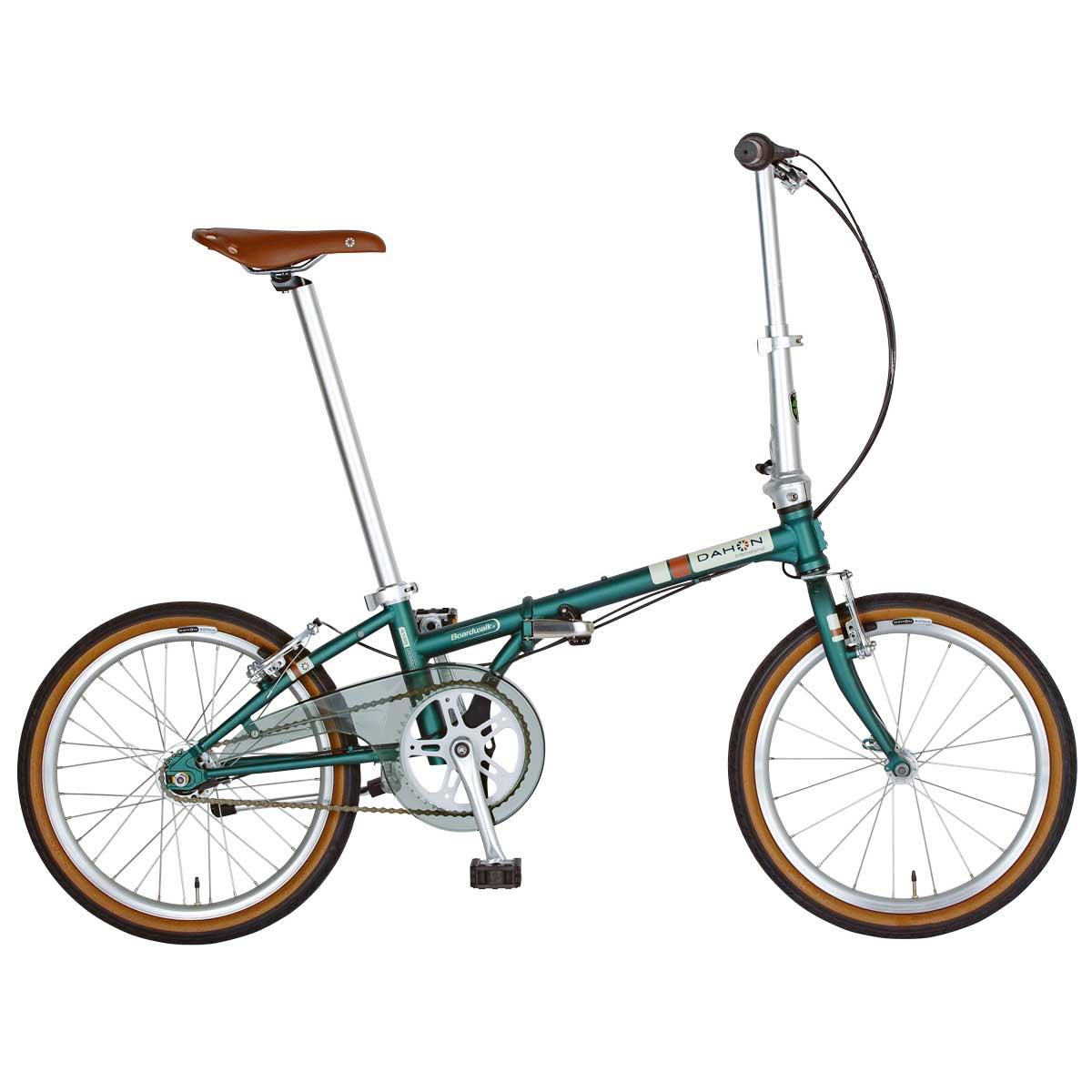 DAHON/ダホン Boardwalk I5 ボードウォーク I5 マットアッシュグリーン(9007) 折りたたみ自転車 自転車本体