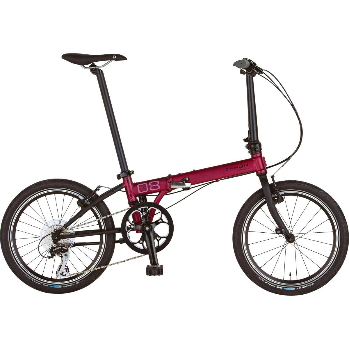 DAHON/ダホン Speed D8 Street スピード D8 ストリートダークワイン(9012) 折りたたみ自転車 自転車本体