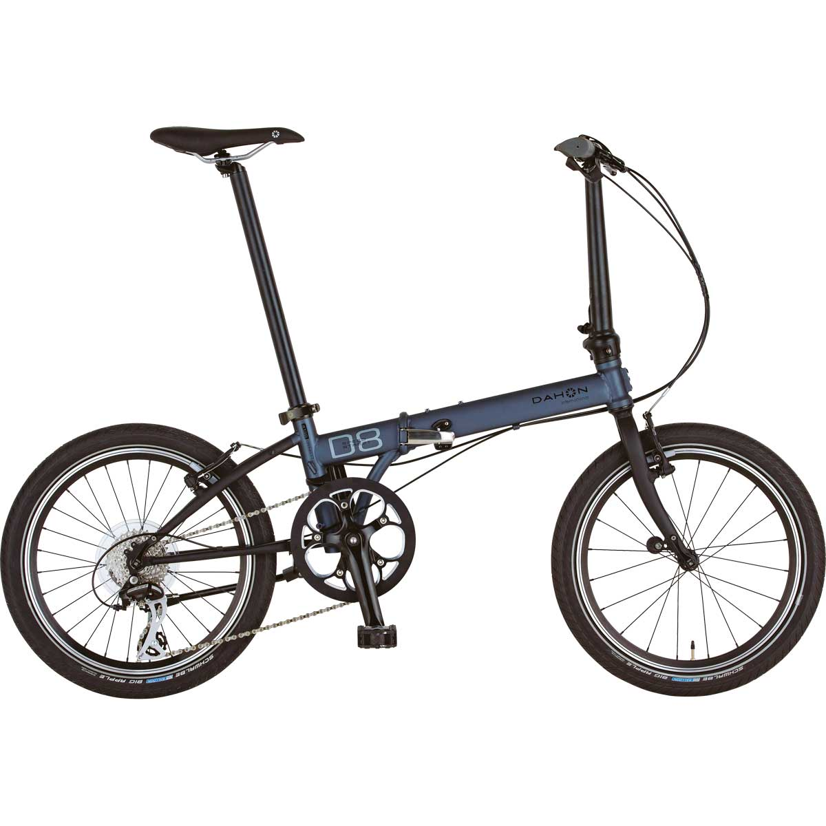 DAHON/ダホン Speed D8 Street スピード D8 ストリートガンメタル(9011) 折りたたみ自転車 自転車本体