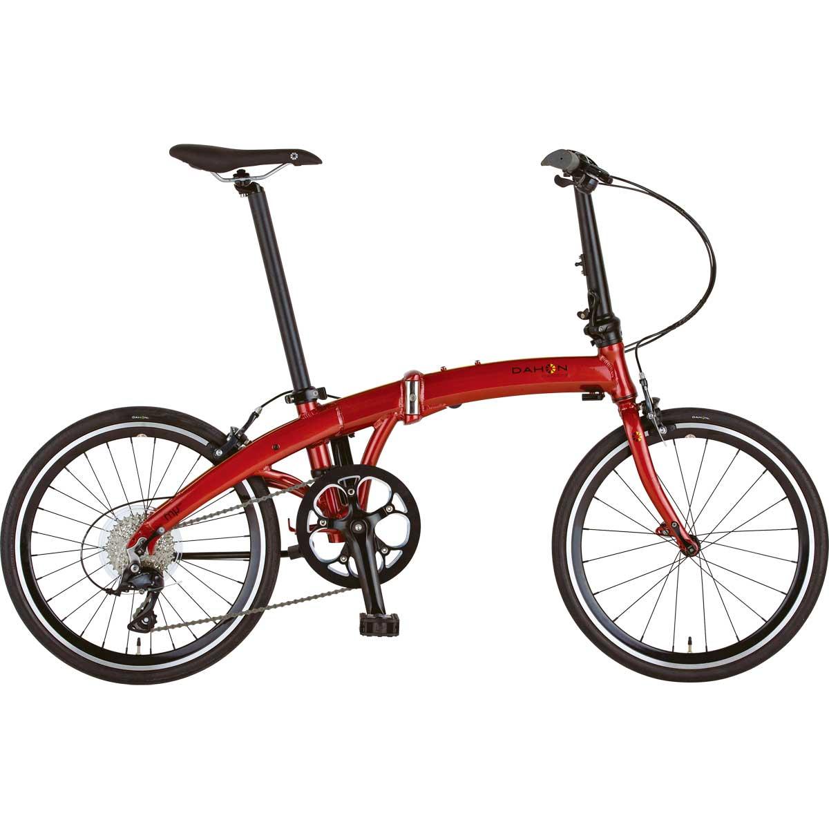 DAHON/ダホン Mu SP9 ミュー SP9 カーディナルレッド(9016) 折りたたみ自転車 自転車本体