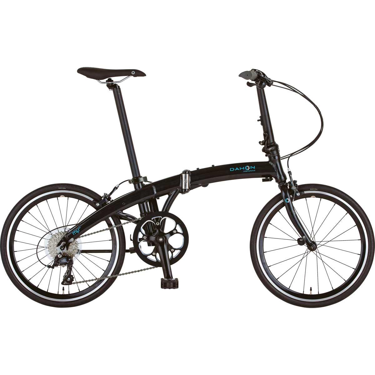 DAHON/ダホン Mu SP9 ミュー SP9 ダイアモンドブラック(9015) 折りたたみ自転車 自転車本体