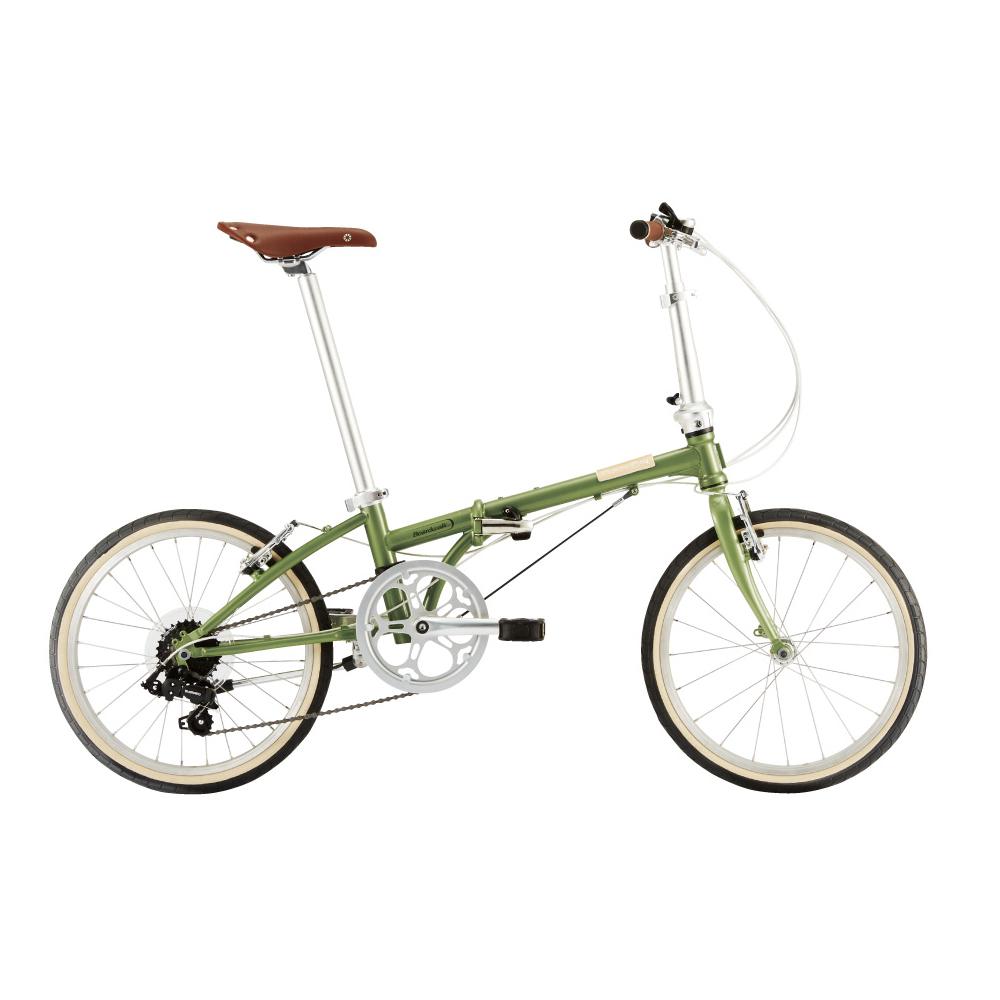DAHON/ダホン Boardwalk D7 ボードウォーク D7 グリーンティー(7125) 折りたたみ自転車 自転車本体