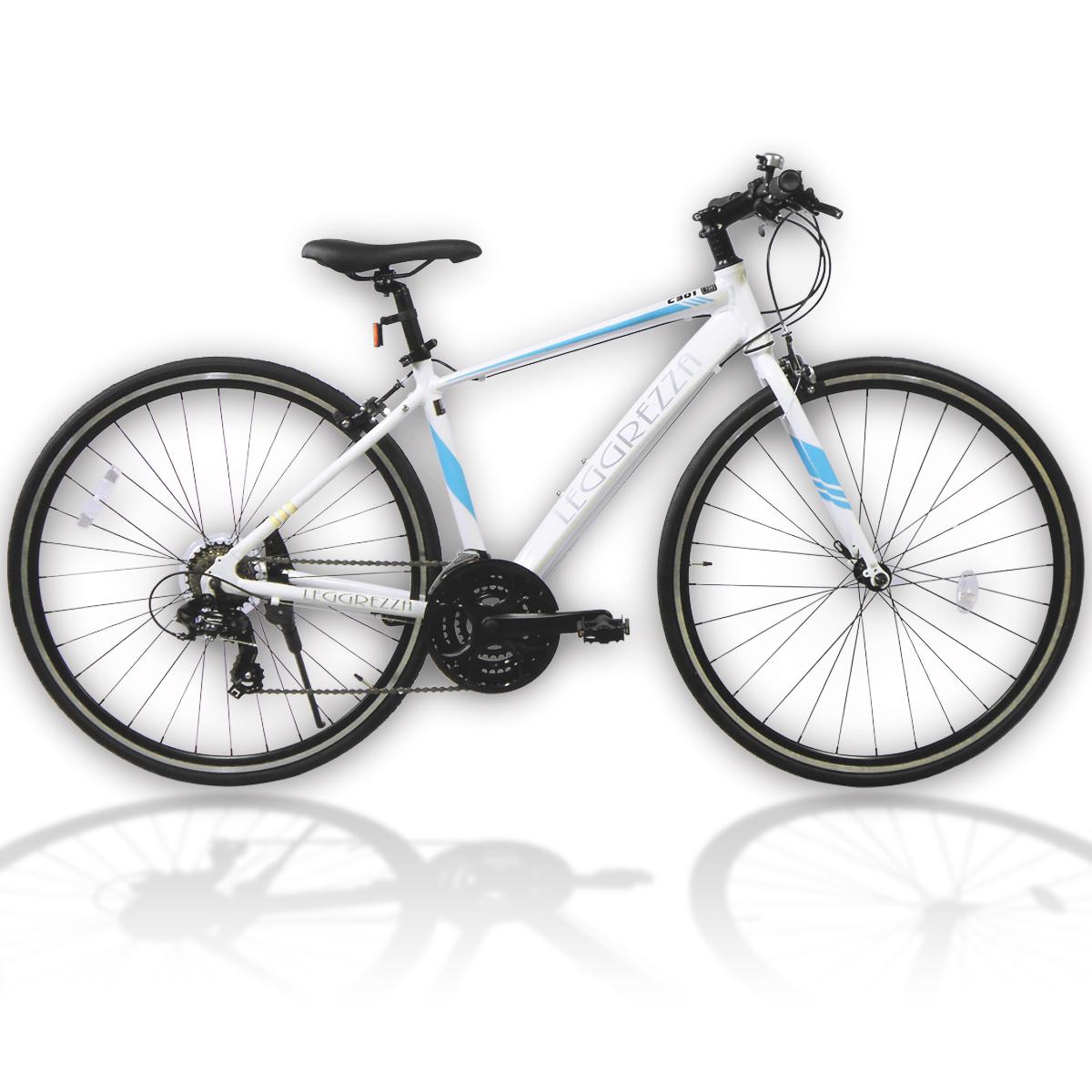 LEGGREZZA SPORTS/レグレッツァスポーツ 700C クロスバイク C301 オフホワイト(6500-C301) スポーツバイク 自転車本体