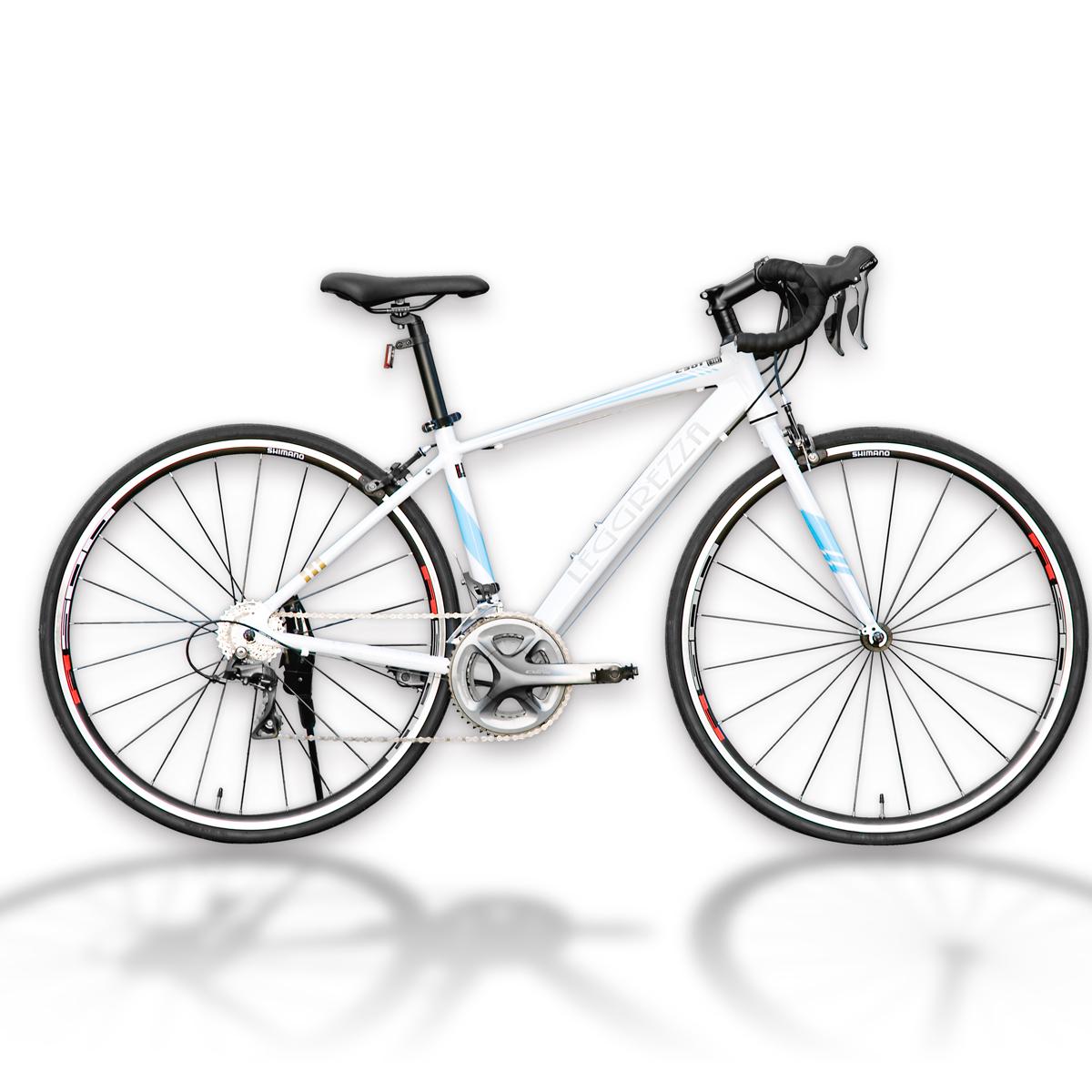 LEGGREZZA SPORTS/レグレッツァスポーツ 700C ロードレーサー C301R ホワイト(6501-C301R) ロードバイク 自転車本体