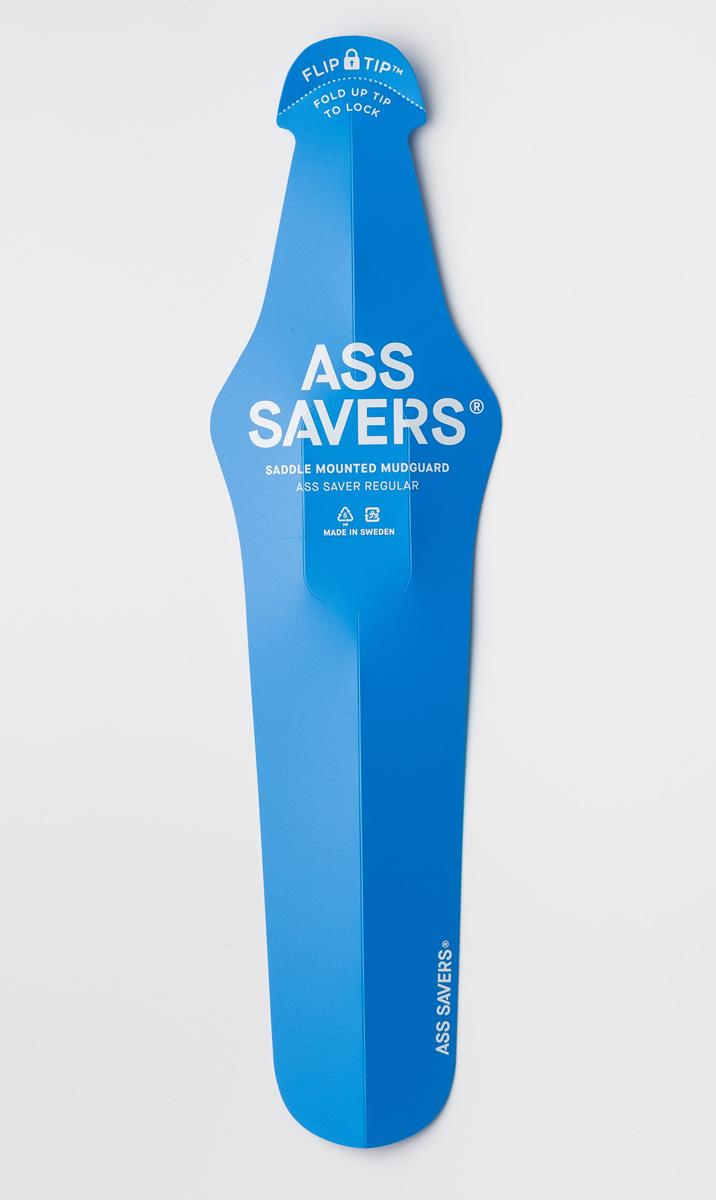 簡単取付マッドガード カラーいろいろ Magic One マジックワン ASS SAVERS 豊富な品 REGULAR フェンダー レギュラー アスセイバー 75456 気質アップ 泥除け 10×38cm ブルー