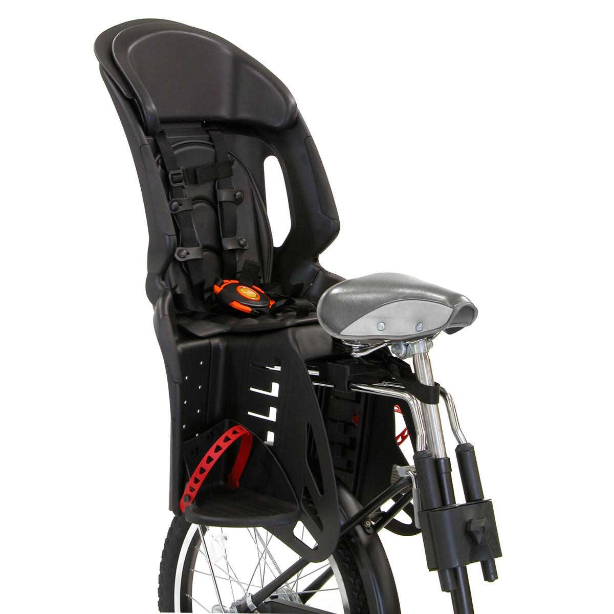 OGK/オージーケー技研 リアチャイルドシート RBC-011DX-SP ブラック(63844-O102) 2~4才未満用 自転車後用子供乗せ
