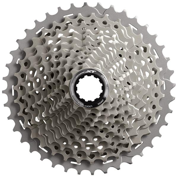 SHIMANO シマノ Deore XT HGカセットスプロケット CS-M8000 11スピード 11-42T フロント:ダブル/シングル用 自転車 コンポーネント