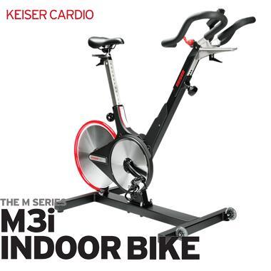 【送料無料】KEISER カイザー M3iバイク ブラック【フィットネス/運動】