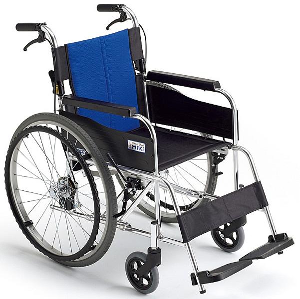 車椅子(車いす)ミキ製 バル1/BAL-1【メーカー正規保証付き/条件付き送料無料】