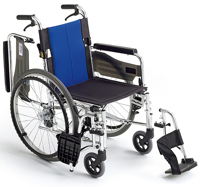 車椅子(車いす)ミキ製 バル3/BAL-3【メーカー正規保証付き/条件付き送料無料】