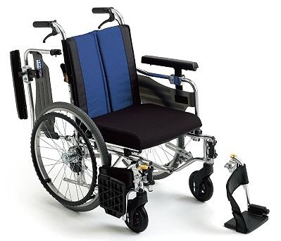 車椅子(車いす)ミキ製 バル9/BAL-9【メーカー正規保証付き/条件付き送料無料】