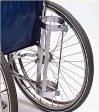 車椅子専用オプション(日進医療器専用)酸素ボンベ架(大) KF-20L(KF-20L)(KF-20L2)