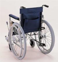 車椅子専用オプション(カワムラサイクル製専用)標準車(スタンダード)用・酸素ボンベ架台