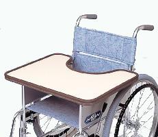 車椅子専用オプション(日進医療器専用)テーブルKF-4WM(白)マジック止め
