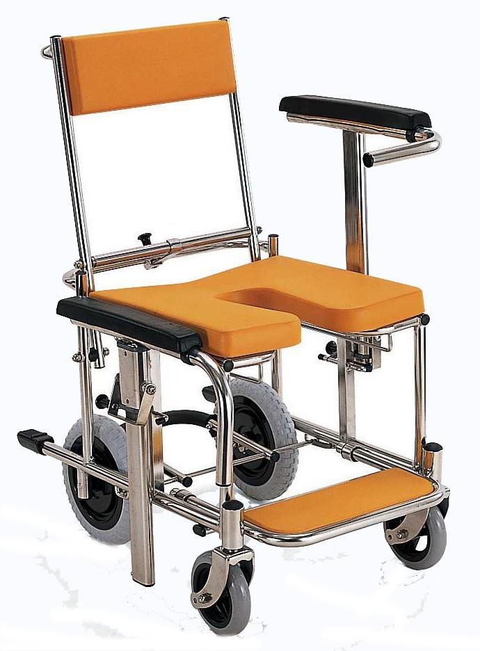 入浴用車椅子(車いす) カワムラサイクル製 KS3【メーカー正規保証付き/条件付き送料無料】