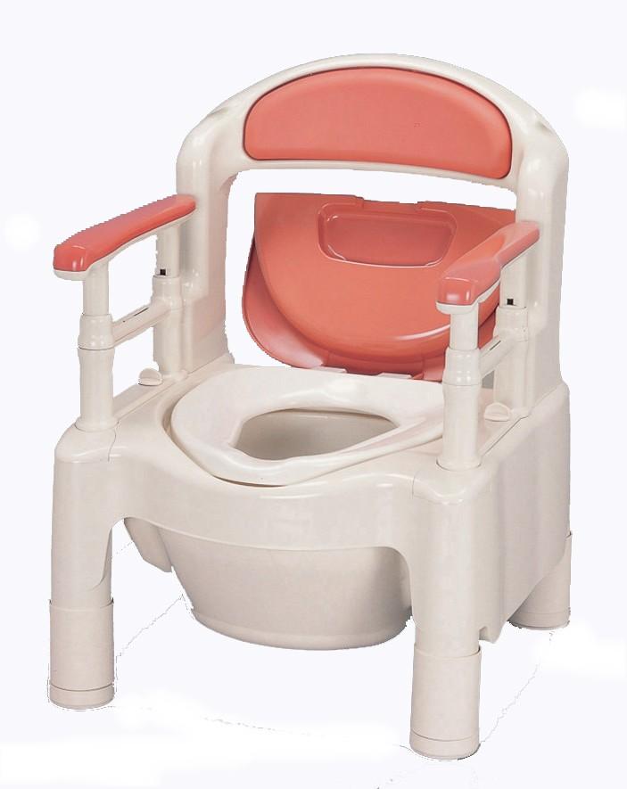 ポータブルトイレ アロン化成 FX-CPSD 快適脱臭付き(533-260/533-580)【1年間メーカー正規保証付き・送料無料】
