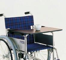 ご購入後も安心のサポート窓口 電話:048-823-4691 車椅子専用オプション(カワムラサイクル製専用)テーブル(面ファスナー止め)