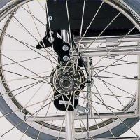 車椅子専用オプション(カワムラサイクル製専用)バンド式介助ブレーキ取付け(新車ご購入と同時のみオプション)
