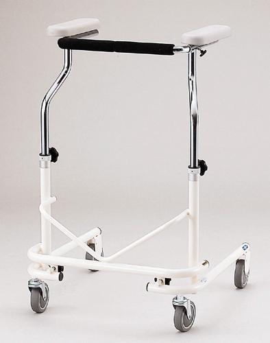 歩行車 日進医療器製 NW-21A(後輪固定タイプ)【メーカー正規保証付き/条件付き送料無料】