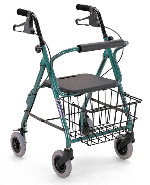 歩行器 カワムラサイクル KW20(四輪歩行器)【メーカー正規保証付き/条件付き送料無料】