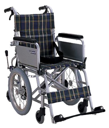 車椅子(車いす) カワムラサイクル製 KAK16-40B【メーカー正規保証付き/条件付き送料無料】