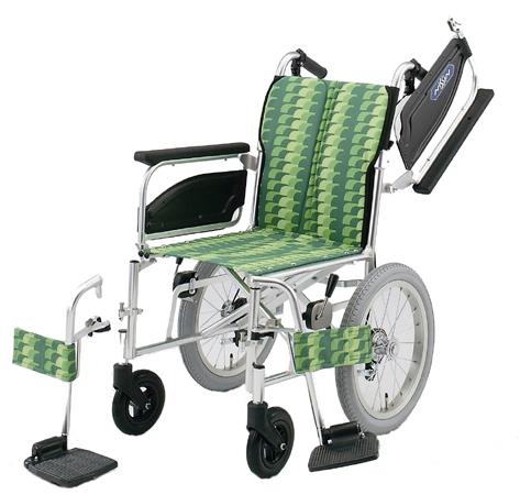 完全国産車椅子(車いす) 日進医療器製 NAH-446W【メーカー正規保証付き/条件付き送料無料】
