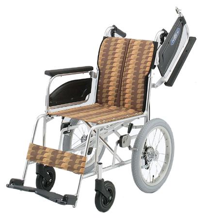 完全国産車椅子(車いす) 日進医療器製 NAH-446U【メーカー正規保証付き/条件付き送料無料】