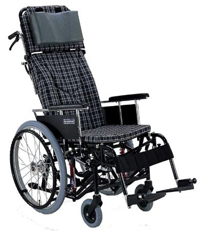 ティルト&リクライニング車椅子(車いす) カワムラサイクル製 KX22-42N【メーカー正規保証付き/条件付き送料無料】