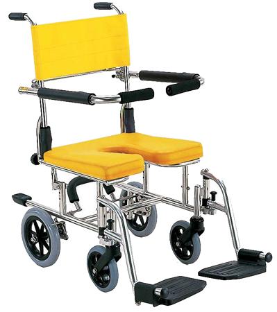 入浴用車椅子(車いす) カワムラサイクル製 KS10【メーカー正規保証付き/条件付き送料無料】