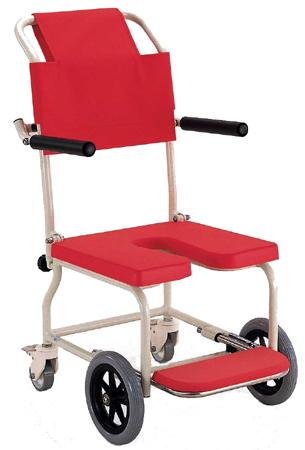 入浴用車椅子(車いす) カワムラサイクル製 KSC-2【メーカー正規保証付き/条件付き送料無料】