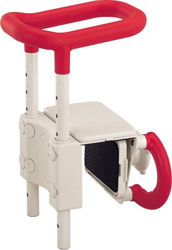 高さ調節付き 浴槽手すり アロン化成安寿 UST-130【1年間メーカー正規保証付き・送料無料】