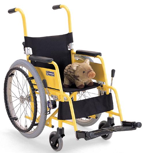 子供用車椅子(車いす) カワムラサイクル製 KAC-N32(28.30)【メーカー正規保証付き/条件付き送料無料】