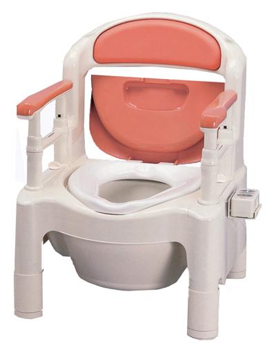 ポータブルトイレ アロン化成 FX-CPHD 暖房便座+快適脱臭機能付き(533-270/590)【1年間メーカー正規保証付き・送料無料】