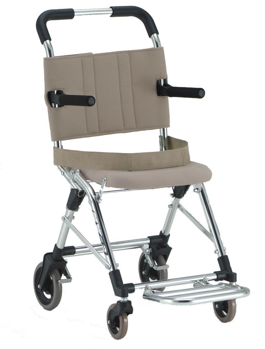 軽量 折りたたみ 旅行用車椅子(旅行用車いす)松永製作所製 MV2【メーカー正規保証付き/送料無料】