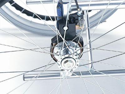 車椅子専用オプション(Miki ミキ専用)介助用ブレーキMS-526