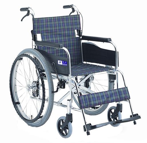 車椅子(車いす)ミキ製 MPN-40(43)JD【メーカー正規保証付き/条件付き送料無料】