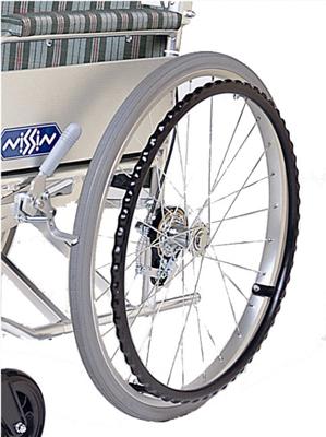 車椅子専用オプション(日進医療器専用)iS用 介助用制動ブレーキ(バンド式)