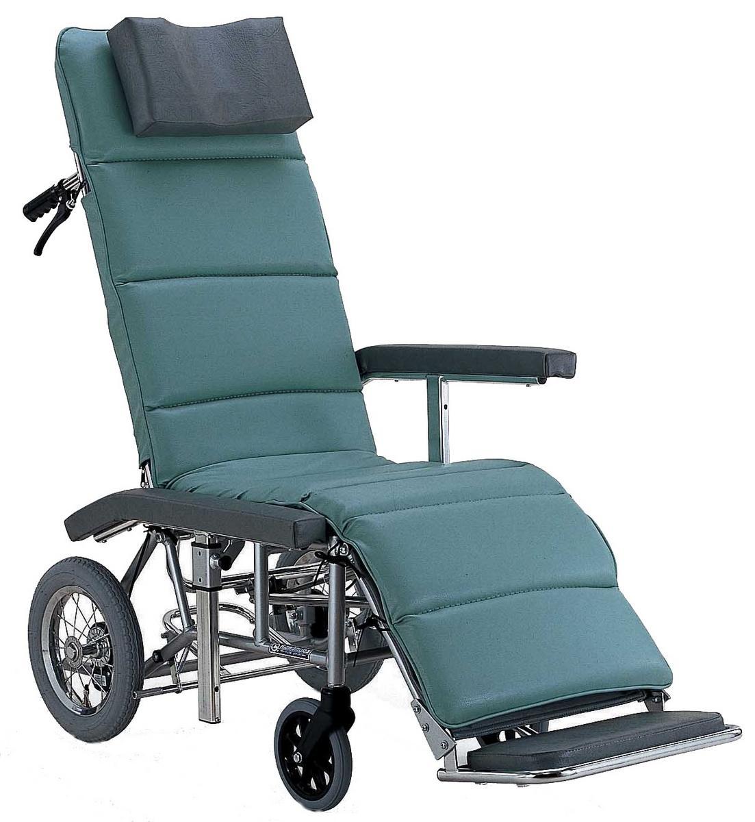 フルリクライニング車椅子(車いす) カワムラサイクル製 RR70NB【メーカー正規保証付き/条件付き送料無料】
