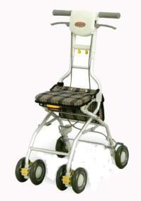 シルバーカー(アロン化成製)サンフィール(ウォーキング) 機能=屋外での使用以外に、室内での歩行補助が必要な方に