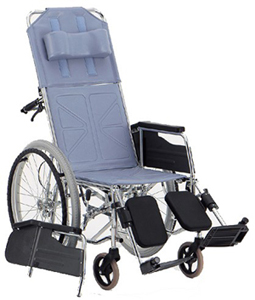 リクライニング車椅子(車いす) 松永製作所製 CM-50(自走式)【メーカー正規保証付き/条件付き送料無料】