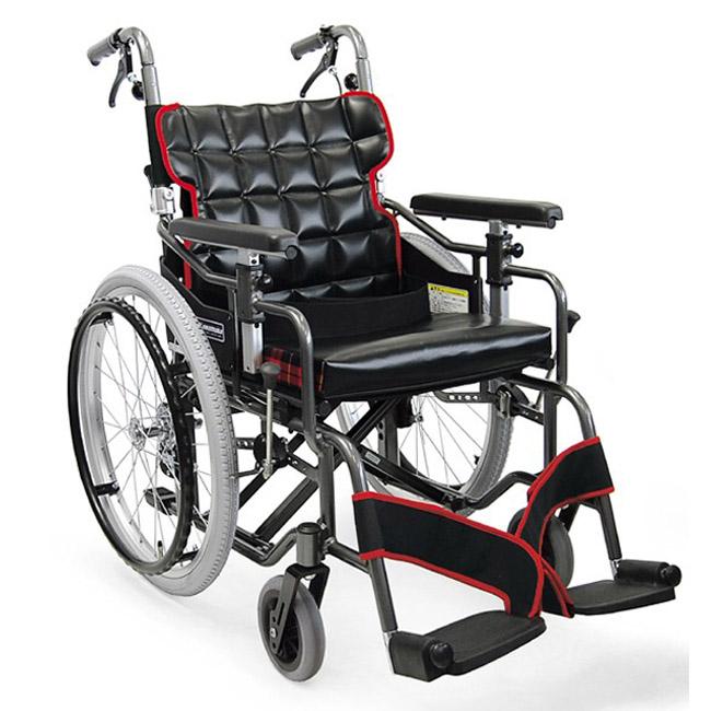 車椅子(車いす) カワムラサイクル製 KM20-40SB-LO(SL)【メーカー正規保証付き/条件付き送料無料】