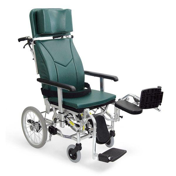 ティルト&リクライニング車椅子(車いす) カワムラサイクル製 KXL16-42EL【メーカー正規保証付き/条件付き送料無料】, 和歌山県湯浅町:67e9187a --- yasuragi-osaka.jp