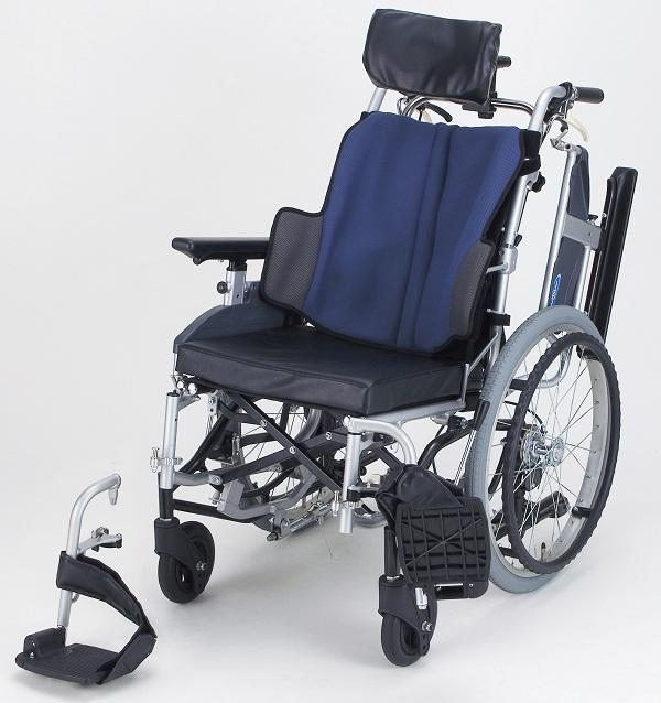 車椅子(車いす) 日進医療器製  NA-F7(座王)【メーカー正規保証付き/条件付き送料無料】