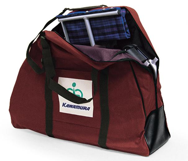 【在庫有り/最短出荷可能です!】車椅子専用オプション(カワムラサイクル製専用)車椅子「旅ぐるま」専用収納バッグ