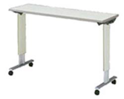 パラマウントベッド製|オーバーベッドテーブル?KF-832LA/KF-832SA(アイボリー)テーブル移動ロック機構なし【1年間メーカー正規保証付き・送料無料】