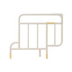 パラマウントベッド製|ベッドサイドレール・スイングアーム介助バーと組み合わせる短いベッドサイドレール(電動ベッド用)KS-151Q・送料無料