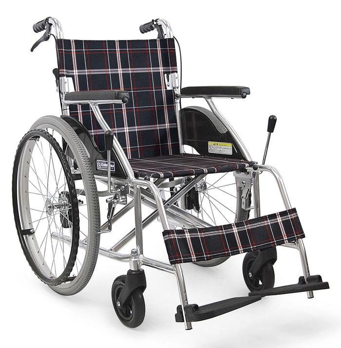 車椅子(車いす) カワムラサイクル製 KV22-40SB【メーカー正規保証付き/条件付き送料無料】
