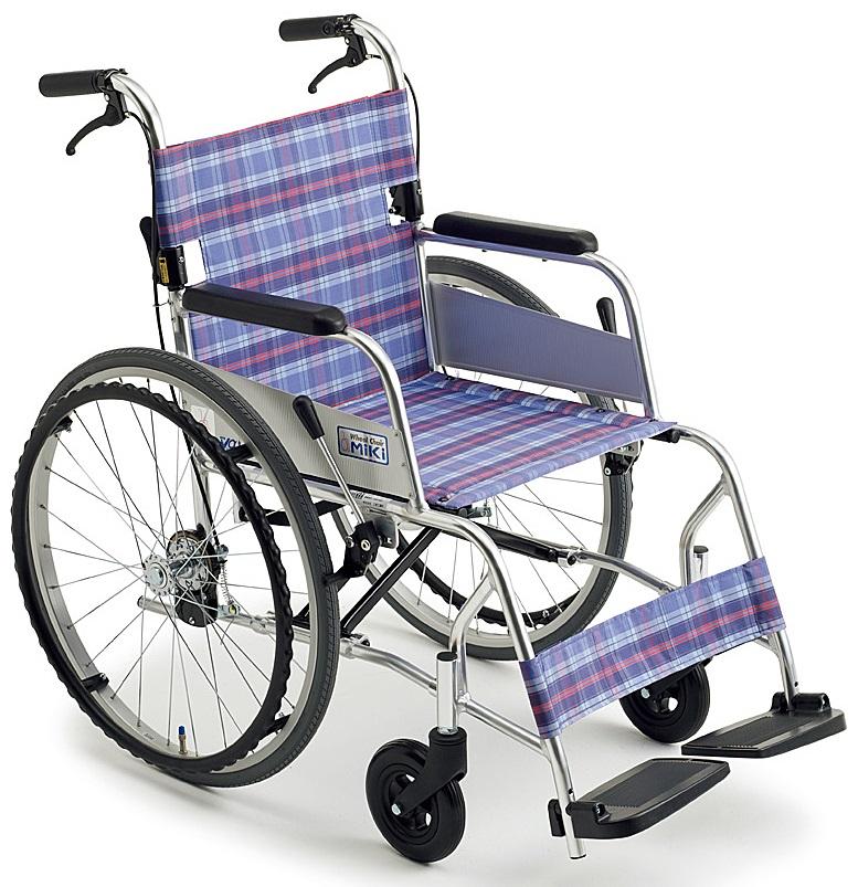 車椅子(車いす)ミキ製 M-43SKSP【メーカー正規保証付き/条件付き送料無料】