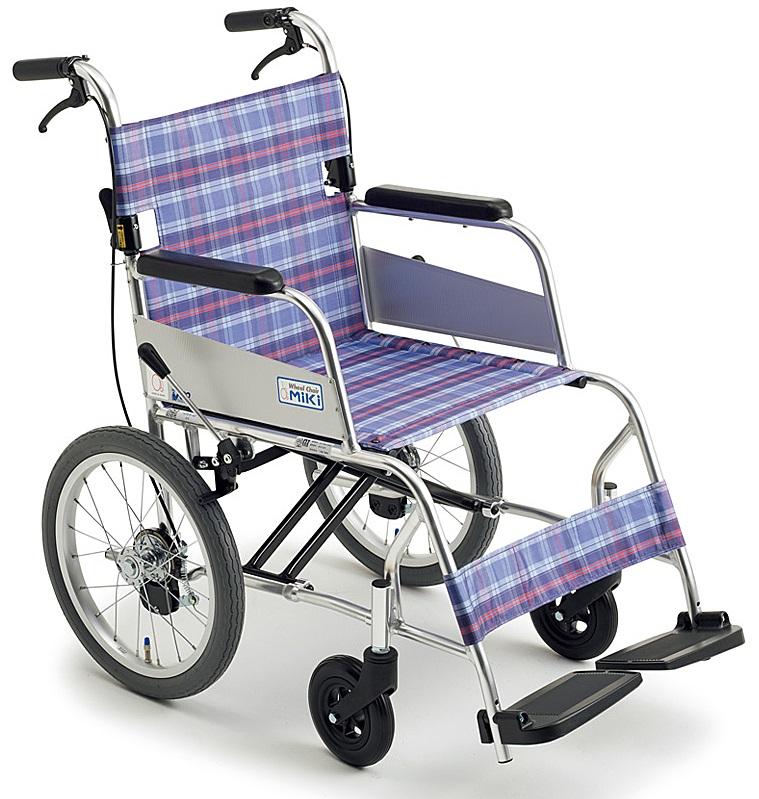 軽量 折りたたみ車椅子(車いす)ミキ製 MC-43SKSP【メーカー正規保証付き/条件付き送料無料】