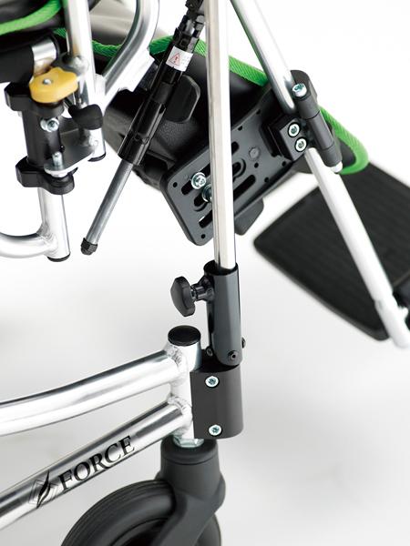 車椅子専用オプション(Miki ミキ専用)点滴台(ガートル台)・点滴棒(ガートル棒)セット